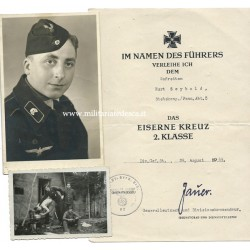 LOT OF PANZER EK2 DOCUMENT...