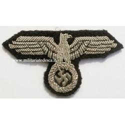 SS OFFICER BULLION CAP EAGLE