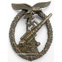 "LUFTWAFFE FLAK BADGE ""ASSMANN"""
