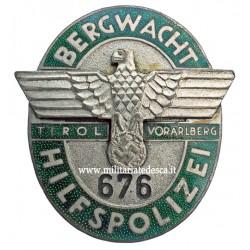 BERGWACHT HILFSPOLIZEI...