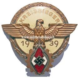 KREISSIEGR BADGE 1939