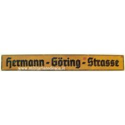 HERMANN GOERING STRASSE...