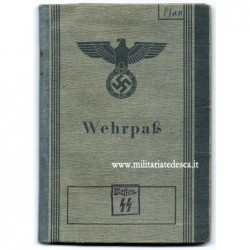 WEHRPASS 12 SS-PZ. DIVISION...