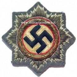 CLOTH GERMAN CROSS IN GOLD