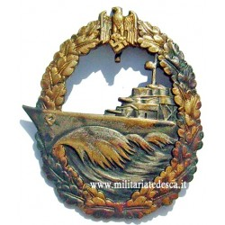 "DESTROYER WAR BADGE ""SCHWERIN"""