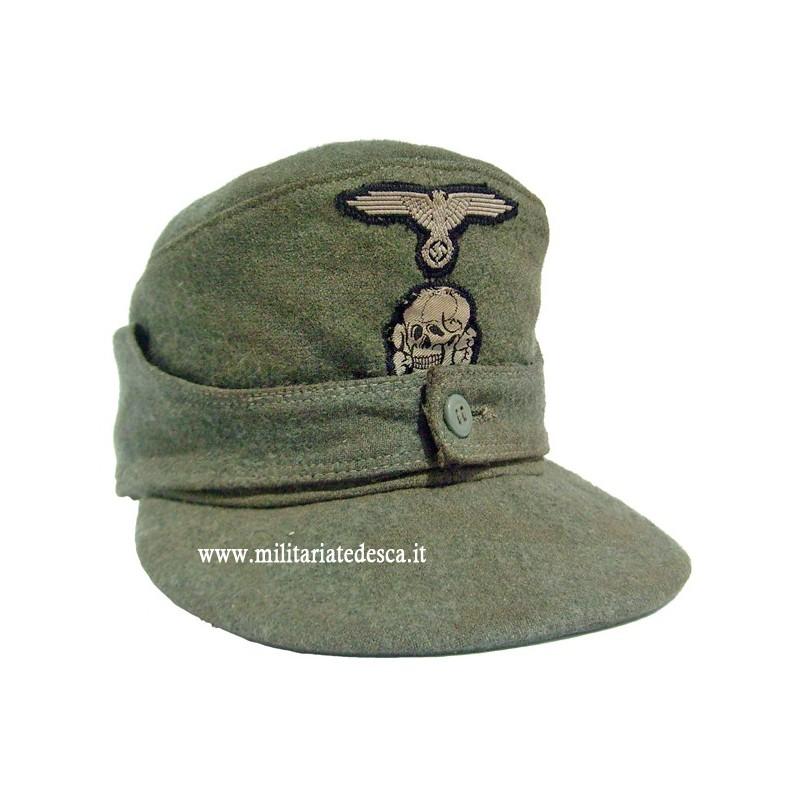 M43 WAFFEN-SS FIELD CAP (SOLD)