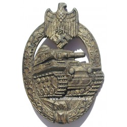 PANZER BADGE IN SILVER...