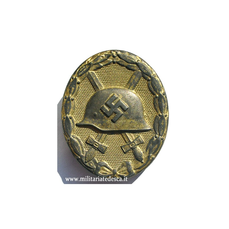 WOUND BADGE IN GOLD