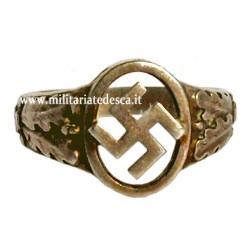 NSDAP SILVER SYMPATHIZER RING