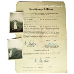 DIETRICH SIGNED WAFFEN-SS...