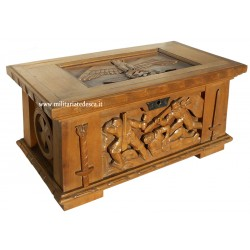 """ANRI"" WOOD CARVED CHEST"