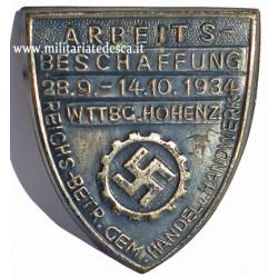 DAF 1934 TINNIE DAY BADGE