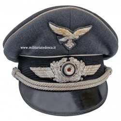 LUFTWAFFE OFFICER VISOR CAP
