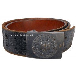 ARMY BELT AND BELT BUCKLE