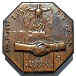 DEUTSCH IST DIE SAAR 1934...