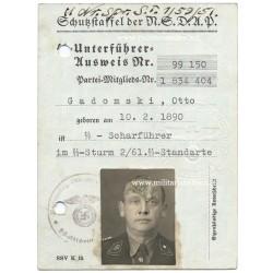 SS-AUSWEIS (ID CARD)