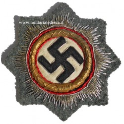 CLOTH GERMAN CROSS IN GOLD