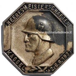 1933 ARMY CHAMPIONSHIP TINNIE