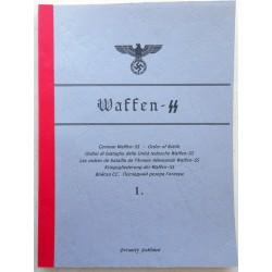 WAFFEN-SS ORDER OF BATTLE...